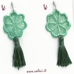Green tassels